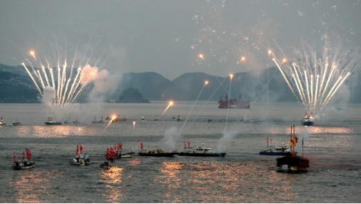 통영 한산도대첩 축제