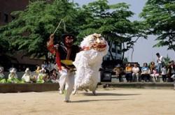 70-음악-은율탈춤 사자춤