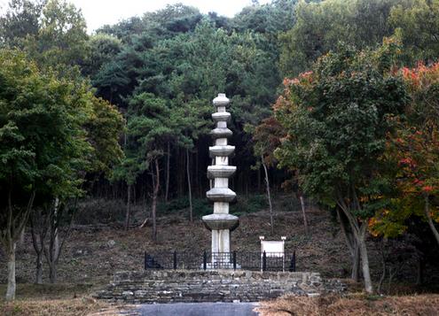 천곡사지 칠층석탑