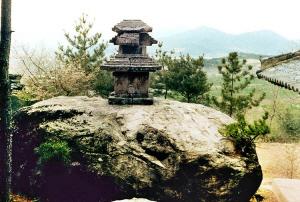 경주 오야리 삼층석탑