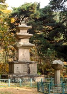 경주 원원사지 동서삼층석탑