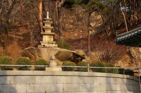 삼막사 3층석탑