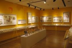 부천 만화 박물관 내부