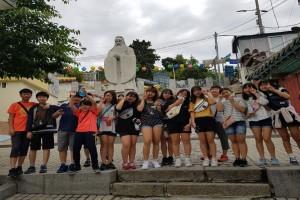인천 개항장 체험학습 단체사진