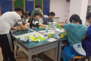 정수과정을 알수있는 아리수팝업북 만들기