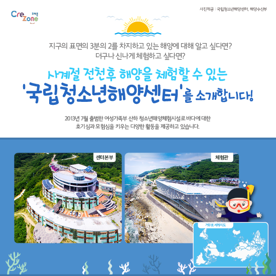 [크레존] 교사대상 진로체험 콘텐츠_카드뉴스_국립청소년해양센터(해양환경)2