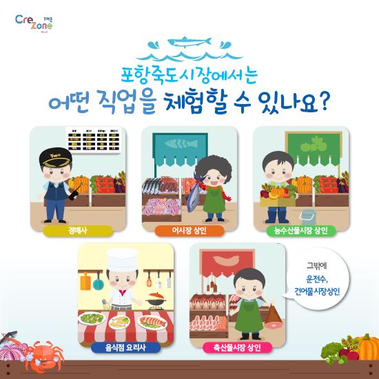 [크레존] 교사대상 진로체험 콘텐츠_카드뉴스_죽도시장(해양산업)6