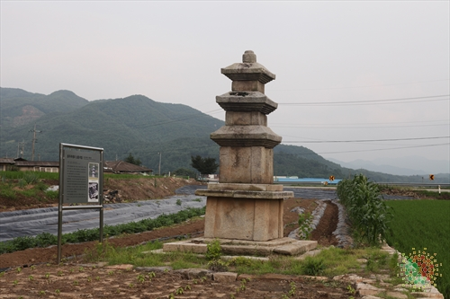 충주 추평리 삼층석탑